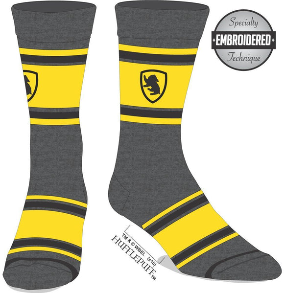 Harry Potter - Hufflepuff Embroidered Socks