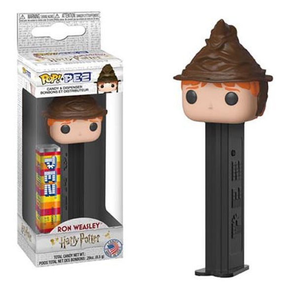 POP! PEZ Harry Potter - Ron Weasley (Sorting Hat)