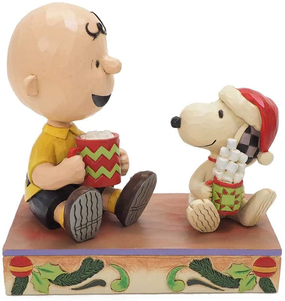 Peanuts - Charlie Brown & Snoopy Hot Cocoa Jim Shore