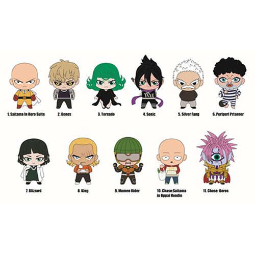 One Punch Man - Series 1 Mystery Keychains