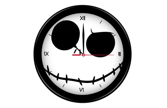 The Nightmare Before Christmas - Jack Face Clock