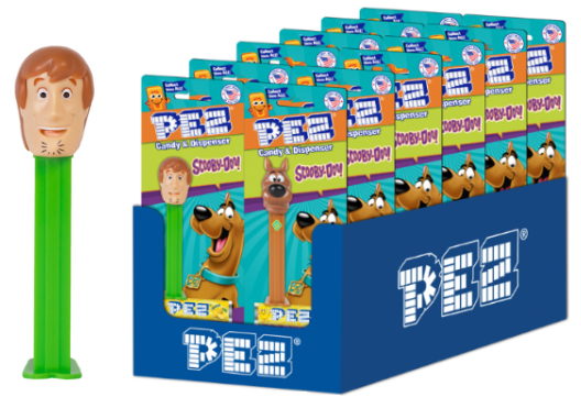 Scooby-Doo - Shaggy Blister Pack PEZ