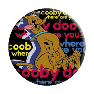 Scooby-Doo - Where Are You Button