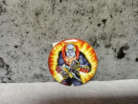 Gi Joe Destro Explosion Button