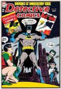 Batman - Detective Comics 13x19 Wood Wall Art