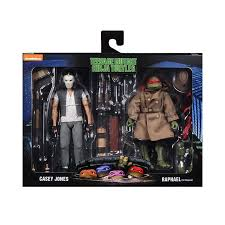 Teenage Mutant Ninja Turtles - Casey Jones & Raphael 2pk Action Figures