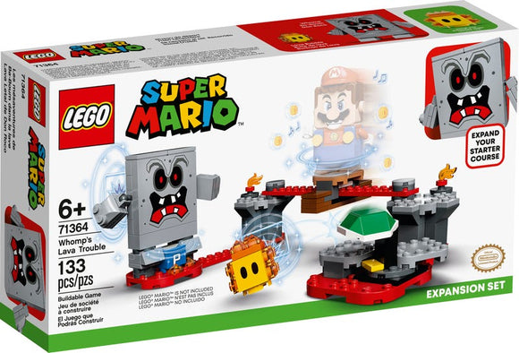 Super Mario - Whomp's Lava Trouble Expansion Lego
