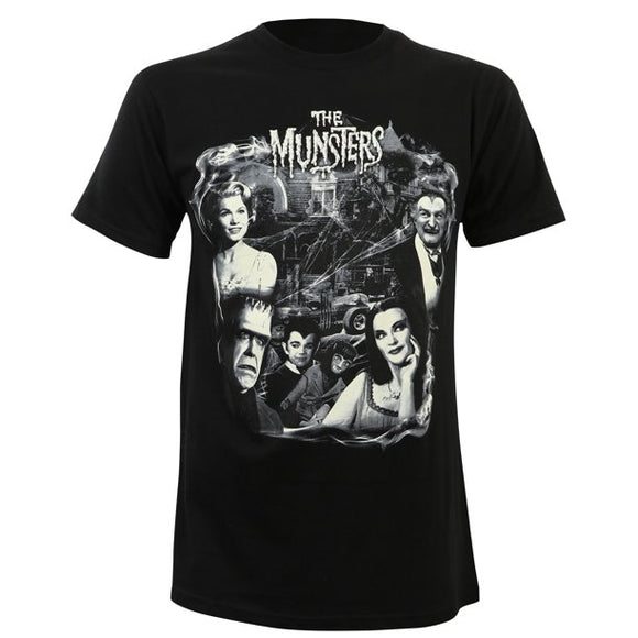 Munsters Collage Women's Tee
