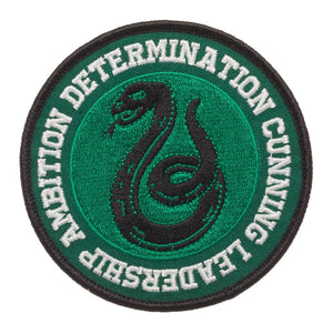 Harry Potter Slytherin Round Patch