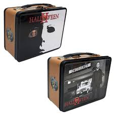 Halloween 2 Tin Lunch Box