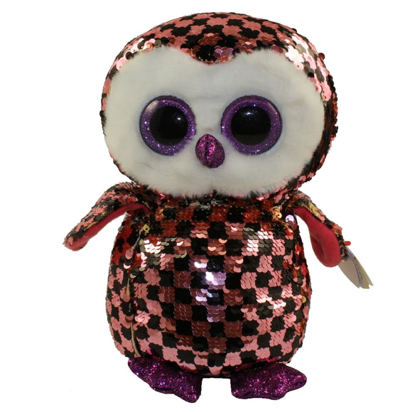 Flippables - Checks Owl (Medium)