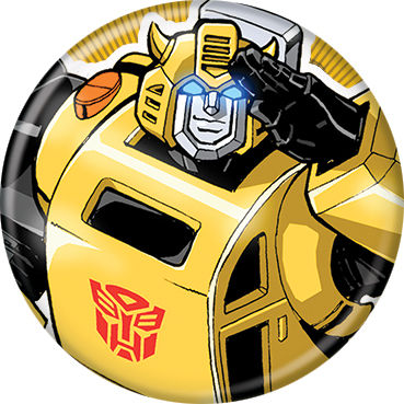 Transformers - Bumblebee Button