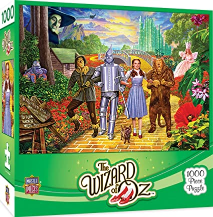 Wizard of Oz - Off To See The Wizard 1000pc Puzzle