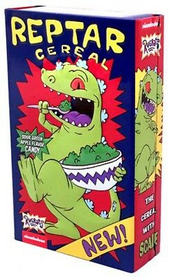Rugrats Reptar Cereal Candy Tin