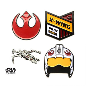 Star Wars - Rebel Alliance 4pk Enamel Lapel Pins