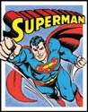 Superman - Flying Tin Sign