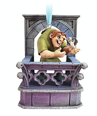 Hunchback of Notredame - Quasimodo Singing Ornament