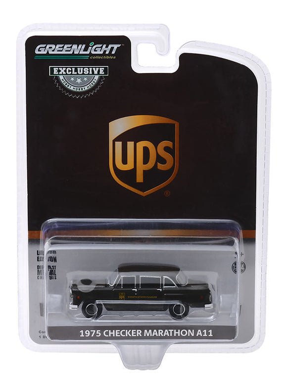 United Postal Service 1975 Delivery Truck Die Cast