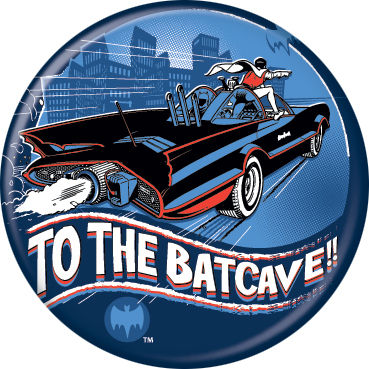 Batman - To The Batcave Button