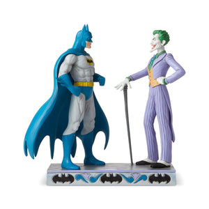 Batman & Joker Jim Shore