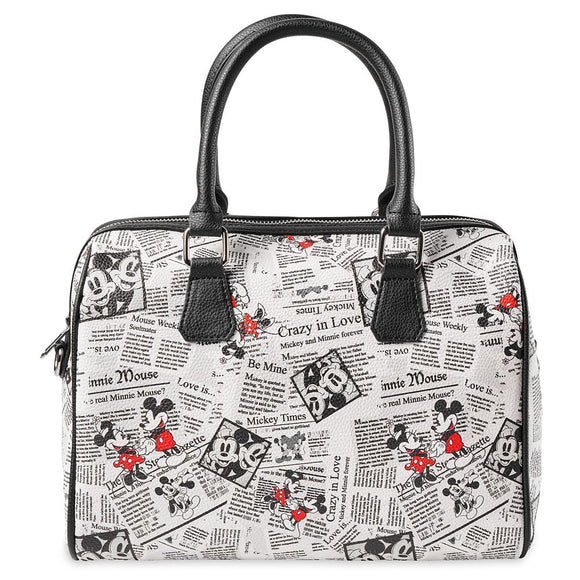 Mickey Mouse Sketch Print Purse