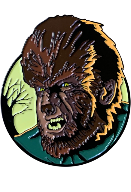 Universal Monsters - Wolfman Enamel Pin
