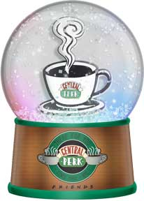 Friends - Central Perk Light Up Glitter Globe