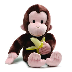 "Curious George with Banana 19"" Plush"