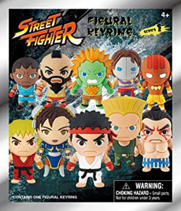 Street Fighter Series 1 Mystery Keychain