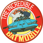 Batman - Incredible Batmobile Button