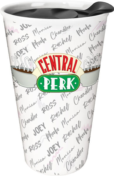Friends - Central Perk with Names Travel Mug