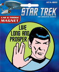 Star Trek - Live Long and Prosper Round Magnet