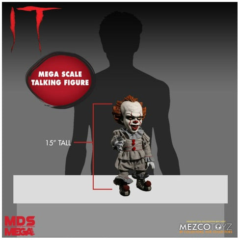 Mezco Designer Series - Talking Pennywise Figure