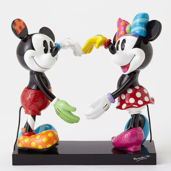 Britto - Mickey & Minnie Making a Heart