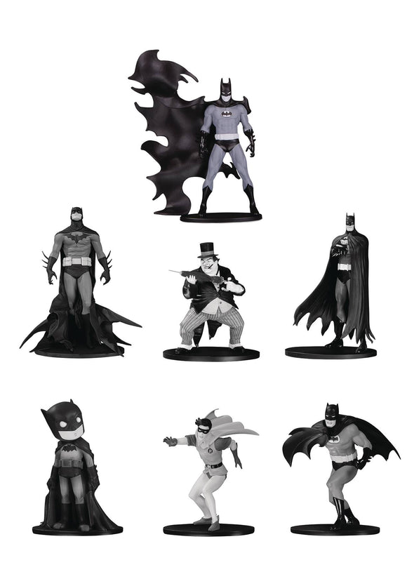 Batman - Black & White Series 4 7pk Mini Figures