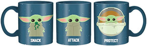 "Star Wars - The Child ""Protect, Attack, Snack"" 20oz Mug"