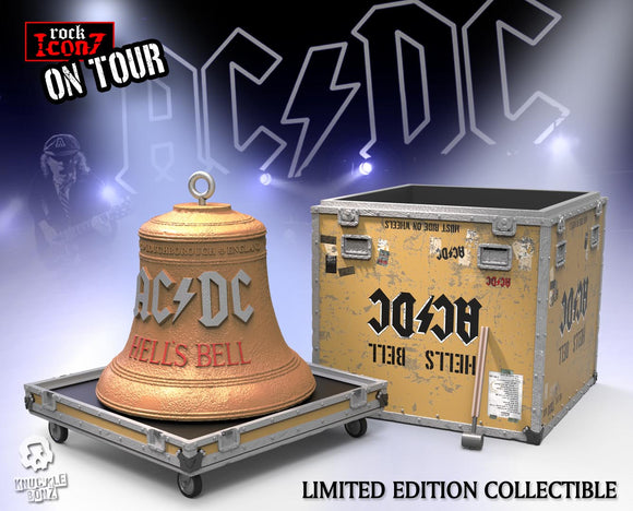 AC DC 'Hells Bell' On Tour Roick Iconz Statue - Limited Edition in Resin