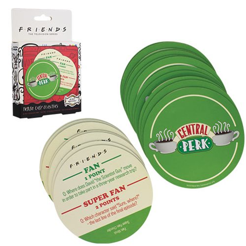 Friends - Central Perk Quiz Coasters