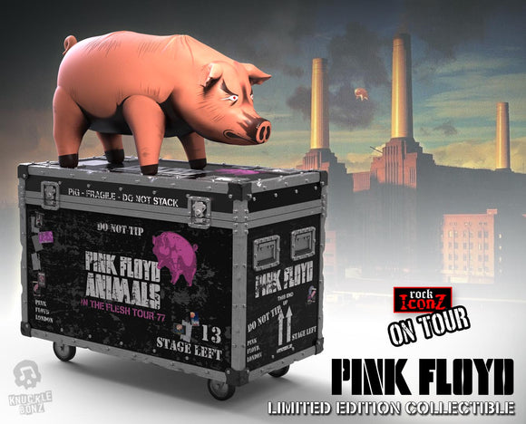 Pink Floyd 'The Pig' On Tour Rock Iconz Statue - Limited Edition in Resin