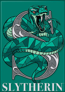 Harry Potter - Slytherin Snake Magnet
