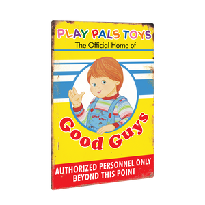 Child's Play 2 - Good Guys Tin Sign