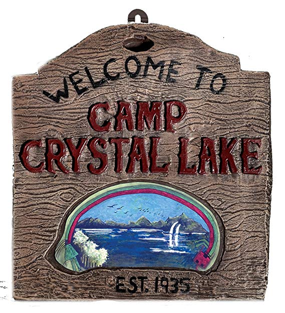 Friday the 13th - Camp Crystal Sign