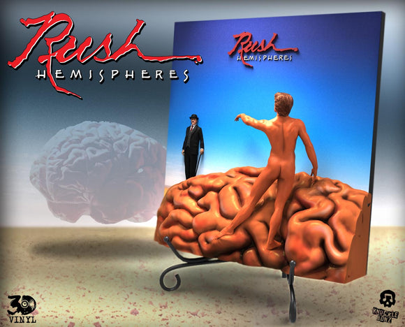 RUSH 'Hemispheres' 3D Vinyl Album Statue - Limited Edition in Resin