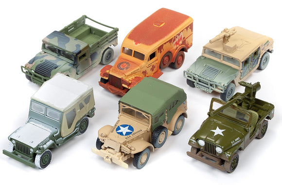 JOHNNY LIGHTNING Military Greatest Generation Release 2B