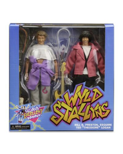 Bill & Ted's Excellent Adventure - 2pk Action Figures