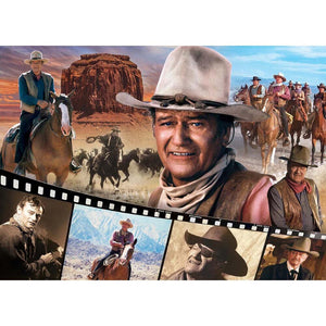 Legend of the Silver Screen - John Wayne 1000pc Puzzle