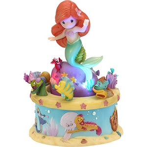 Little Mermaid Rotating Musical Precious Moments