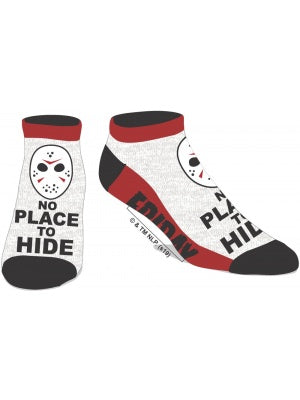 Friday The 13th - No Place to Hide Ankle Socks