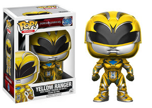 POP! Power Rangers Movie YELLOW RANGER VINYL FIG