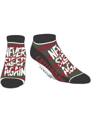 Nightmare On Elm Street - Never Sleep Again Ankle Socks